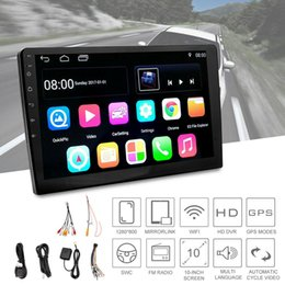 """Gps Australia - 10.1"""" HD Android 7.1 2 Din Car GPS Stereo Radio Player Navigation Touch FM AM TV"""
