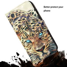 $enCountryForm.capitalKeyWord Australia - For Samsung S10 S10e A7 2018 A750 M10 M20 M30 A30 A50 3D Leather Wallet Case Skull Tiger Panda Rose Flower Butterfly Wolf ID Slot Leopard