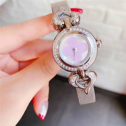 Discount 25mm bezel - woman designer luxury watches 25mm diamond bezel iced out watch ladys fashion quartz movement Wristwatches cute lover gi