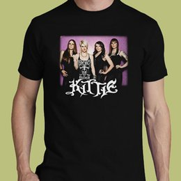 $enCountryForm.capitalKeyWord Australia - Kittie t-shirt heavy metal band Morgan Lander S M L XL 2-3XL tee The Alcohollys Cool Casual pride t shirt men Unisex