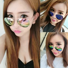 SunglaSSeS aviator mirror pink online shopping - aviator sunglasses womens sunglasses mens sunglasses fashion Sun Glasses Women Vintage Outdoor Driving Oculos De Sol