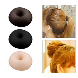 Bun shaper online shopping - New Hot Fashion Elegant Women Ladies Girls Magic Shaper Donut Hair Ring Bun Fashion Hair Styling Tool Accessories