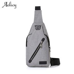 $enCountryForm.capitalKeyWord Australia - Luxury 3 Colors New Canvas Chest Bag Fashion Designer Men's Polyester Sling Bags Chest Pack Crossbody Men Boston Bag