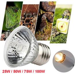 Bombilla 25-100W UVA + UVB calor emisor de luz de lámpara calentador pet reptil tortuga criadora en venta