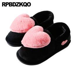 $enCountryForm.capitalKeyWord NZ - women indoor embellished home slip on ladies slipper big size house fuzzy footwear winter shoes plus slides bedroom fluffy plush