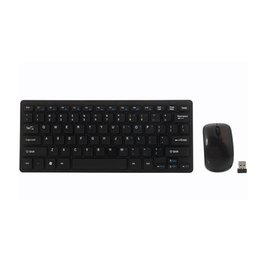 wireless keyboards for pc UK - High Quality 3 PCS Mini 2.4G DPI Wireless Keyboard and Optical Mouse Combo for Desktop