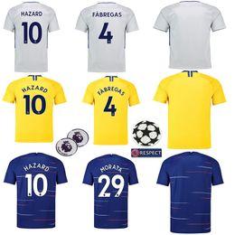 HAZARD JORGINHO soccer jersey 2019 MORATA RUDIGER GIROUD jersey 18 19 KANTE  Willian jersey 18 19 football kit shirt Camisetas 3336dd6cb