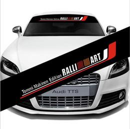 $enCountryForm.capitalKeyWord Australia - Reflective Windshield Banner Decal Car Front Back Window for Ralliart Sticker