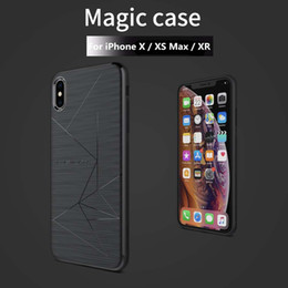 $enCountryForm.capitalKeyWord NZ - Magnet Phone Case For iPhone X XR Support Wireless Charging Nillkin Magic Case iPhone XS Max Magnetic Holder Cover