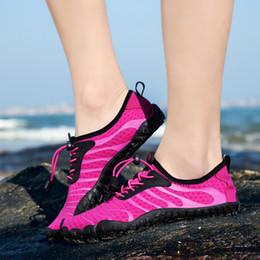 Quick Flats Australia - YOUYEDIAN Fashion Womens Water Shoes Sport Quick Dry Barefoot Socks Swim Beach Walking Yog Flat Shoes For Women 2019