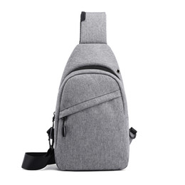 Cool Small Backpacks UK - 19 New Men's Universal chest pack Single Shoulder Large Capacity Variety functional Small Backpack Fashion Korean Style and Cool daily good