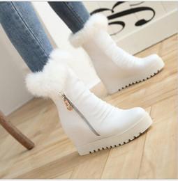 $enCountryForm.capitalKeyWord Australia - New Type of Warm and Thickened Flat Bottom Antiski Floor Shoes with Rabbit Hair