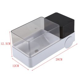 best white bags Australia - Best Toilet Punch Free Paper Roll Holder Waterproof Bathroom Tissue Box with Garbage Bag Easy Install