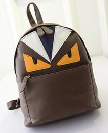 $enCountryForm.capitalKeyWord Australia - Designer-- NEW fashion ulzzang harajuku Little monsters women's backpack preppy style men's devil eyes schoolbag shoulder bag