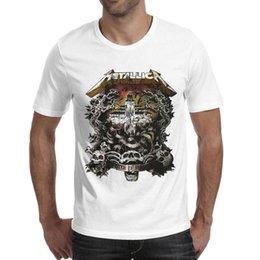 7f2cf204 Metallica shirts online shopping - Metallica master of puppets rock Summer  printing T Shirt For Men