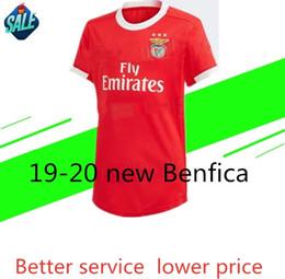 9937bc19344 Benfica soccer jerseys 2019 20 Europa League Benfica HOME jersey JOAO FELIX  RAFA Pizzi Salvio SEFEROVIC JONAS Raul Jimenez GRIMALDO Footbal