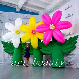 Inflatable For Event Party Decoration Australia - Hot selling new beautiful giant inflatable flower tree for party event stage decoration