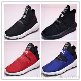 99711a6fb New Top Quality Y-3 Suberou Men Women Slip On Casual Shoes All Black White  Red Blue Yohji Y3 Sneakers Size 36-44