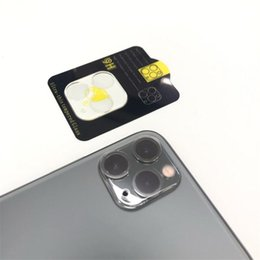 3d camera lens Canada - 3D HD Camera Film For iPhone 11 Pro Max Tempered Glass Screen Protector Camera Lens 9H Full Back Protective Glass With Retail Package