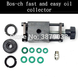 common rail pressure NZ - High pressure common rail injector oil collector Bos-ch series special oil collector Test bench detector T0205