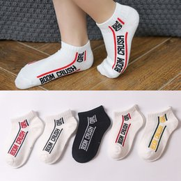 $enCountryForm.capitalKeyWord UK - 5 colors Kids Sports socks children summer new letter cotton ankle socks Korean boys girls designer sock infant toddler clothing footwear