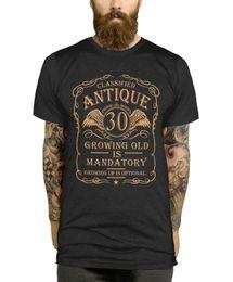 $enCountryForm.capitalKeyWord Australia - 30th Birthday T Shirt Gift Idea For Men Funny Present Vintage 30 Year Old L397 Funny free shipping Unisex Casual Tshirt