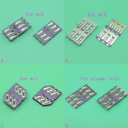 Wholesale For Xiaomi MI sim card for Nokia sim card holder reader tray slot socket replacement module