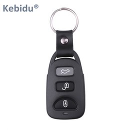 remote control car cloning NZ - Consumer Electronics Kebidu Universal 433Mhz Control Garage Door Opener Duplicator Car Key Remote Clone Auto Pair Copy Remote