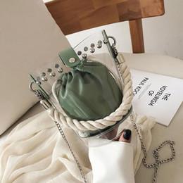 $enCountryForm.capitalKeyWord Australia - Female Bucket Bag Transparent Jelly Travel Beach Tote 2019 New Quality Women's Designer Handbag Ladies Shoulder Messenger Bags