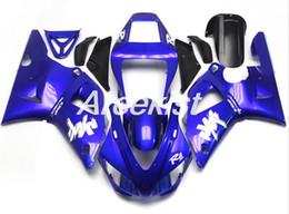 $enCountryForm.capitalKeyWord Australia - New ABS Compression Molding motorcycle plastic Fairings Kits Fit For YAMAHA YZF-R1-1000 1998-1999 98 99 bodywork Set Custom blue cool