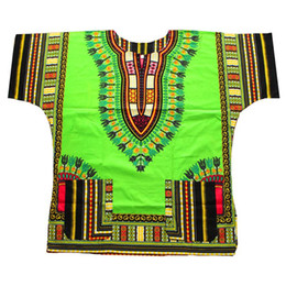 hippie wear 2021 - XXL XXXL Dashiki Fabric Multi Use Men Hippie Punk Traditional Dashiki Fabric Top Plus Size Shirt for African Wear Clothing
