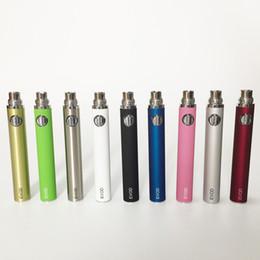 Ce4 Ce5 Pen Australia - E Cigarettes kangertech EVOD Battery 650mah 900mah 1100mah for MT3 CE4 CE5 CE6 e cig starter kits Colorful Battery automatic vape pen