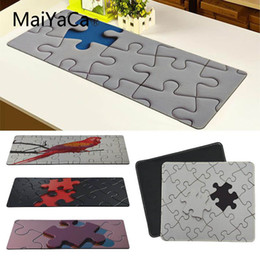 free mouse mats 2019 - Maiyaca Vintage Cool Puzzle Large Mouse pad PC Computer mat Free Shipping Large Mouse Pad Keyboards Mat cheap free mouse