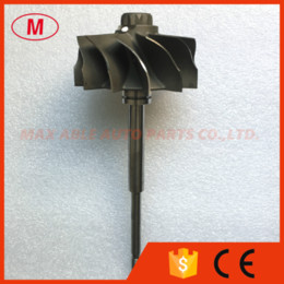 Engines 12 Australia - HX55W 4046127 4090042 4027807 80 86mm 12 blades Turbo turbine shaft turbine wheel turbocharger shaft for Cummins ISX2 Engine