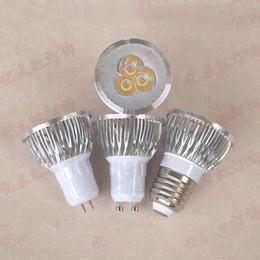 $enCountryForm.capitalKeyWord NZ - MR16 220V LED Spotlights GU5.3 Silver Aluminum Lamp Cup Downlight Spotlights Light Source 3W 5W