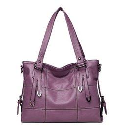 $enCountryForm.capitalKeyWord NZ - Women's Leather Handbags Luxury Lady Hand Bags With Purse Pocket Women Messenger Bag Big Tote Sac Bols