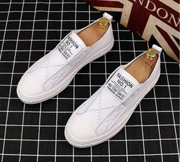 $enCountryForm.capitalKeyWord Australia - 2019 summer new small white shoes male Korean version of the trend a pedal lazy casual music shoes tide men's wild shoes