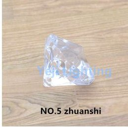$enCountryForm.capitalKeyWord Australia - Acrylic resin plastics Diamond Pendant Chandelier Crystal light decoration plastic fittings for retro candle lamp led wall light