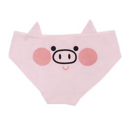 e929b0171ce Women Underwears with Pig Girl Soldier Lovely Cartoon Cotton Girls Underwear  Ladies panties Fresh low-waist Comfortable Breath Underwear
