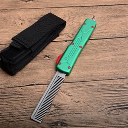Knife pacKages online shopping - 2 Styles CR13 Comb Aluminum Alloy Handle Smooth Action Outdoor gear EDC Tool Collection Gift With Nylon Bag Package P912M Q