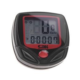 Bike Function UK - Sunding SD-548B Wired Bike Bicycle Cycle Computer Odometer Speedometer LCD Waterproof 14 Functions #326607