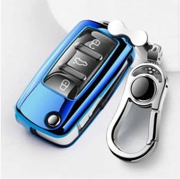 $enCountryForm.capitalKeyWord Australia - Patent TPU Car Auto Remote Key Case Cover Shell for Volkswagen VW Bora Beetle Golf Polo Passat Car Accessories Styling
