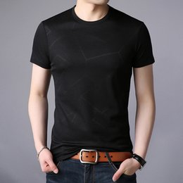 white shorts Australia - Bottom shirt Men's white casual top Fashion Summer Men's short-sleeved T-shirt Personality Pure color round collar half-sleeve direct sales