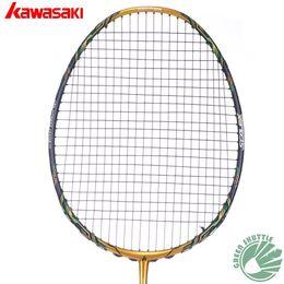 $enCountryForm.capitalKeyWord Australia - 2017 Five Star 100% Original Kawasaki Top Quality Badminton Racket Professional Force Carbon Fiber Raquette Badminton