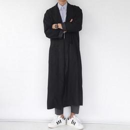 $enCountryForm.capitalKeyWord Australia - In 2018, the new design men with long coat Plus-size men black cape coat singer's clothing personality Men's jacket