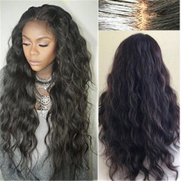 Cheap long wavy human hair online shopping - Brazilian Wet And Wavy Full Lace Wigs Virgin Hair Long Wet Wavy Cheap Glueless Full Lace Front Human Hair Wig Pre Plucked