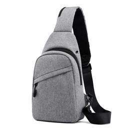 $enCountryForm.capitalKeyWord Australia - New men's chest bag shoulder Messenger bag large capacity multi-function small backpack fashion Korean cool men's