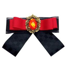 Cravatta a fiocco Bow Cravatta da donna Camicia da donna Camicetta Cravatta Ruby Bowtie Best Man Spallina Colletto Accessori