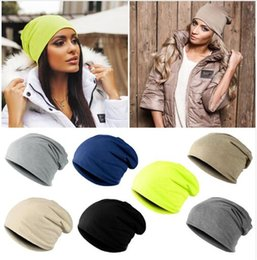 01dc818b5dd Fashion Hot Sell Unisex Women Men Warm Winter Cotton Ski Beanie Skull  Slouchy Oversize Cap Hat