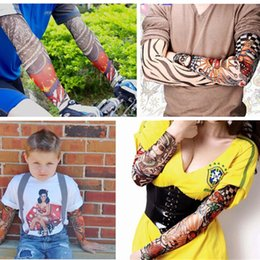 $enCountryForm.capitalKeyWord NZ - US Europe tattoo sleeves arm men women Punk Party Sunblock Cycling Excursion Pick Up Long Opera Gloves